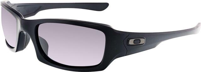 20e5d2fe075 Oakley SI Fives Squared Sunglasses Matte Black  w Warm Grey 9238-10 ...