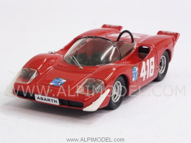 Abarth 2000 S Trieste-Opicina 1969 F.Pilone 1 43 BEST 9554