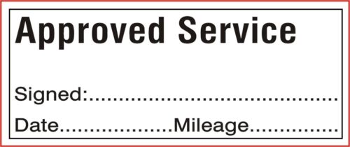 SPECIALIST SERVICE GARAGE 45x15 COLOP Self Inking Rubber Stamp APPROVED