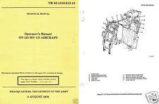 Grumman OV-1 Mohawk 1960's-70's ops manual archive RARE HISTORIC DETAIL Vietnam
