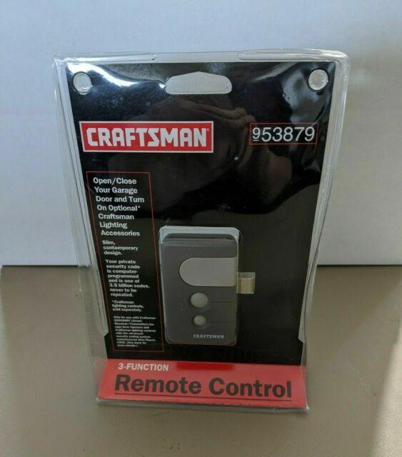 53879 Craftsman Garage Door Remote Control For Sale Online Ebay