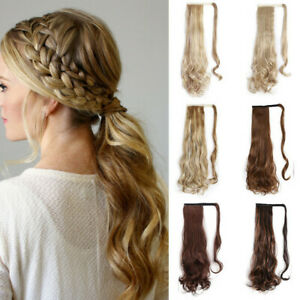 16-034-24-034-Wave-Wrap-Around-Ponytail-Clip-In-100-Real-Human-Hair-Extensions-100G