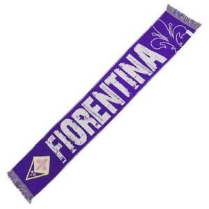 Sciarpa-Fiorentina-calcio-Viola-Jacquard-ACF-Ufficiale-Originale-calda-invernale