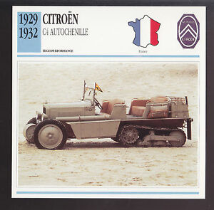 1929 1932 citroen c4 autochenille half track army car. Black Bedroom Furniture Sets. Home Design Ideas
