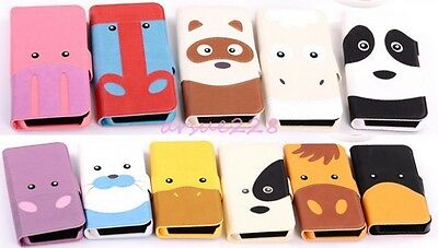 Cute Animal Credit Card Flip Wallet Leather Case Cover Stand For iPhone/Samsung