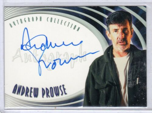 Farscape A21 Andrew Prowse auto card