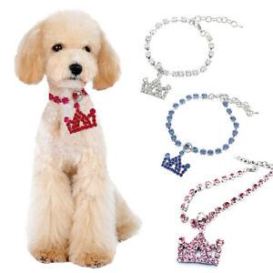 HB-Crown-Pendant-Dog-Cat-Puppy-Collar-Rhinestone-Necklace-Outdoor-Pet-Supplies