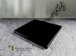 Nero Assoluto Granit nero assoluto zim 2cm stark entkopplungsplatte gerätebasis