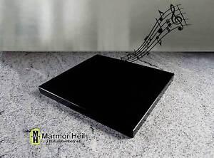 nero assoluto zim 2cm stark entkopplungsplatte ger tebasis lautsprecher granit ebay. Black Bedroom Furniture Sets. Home Design Ideas