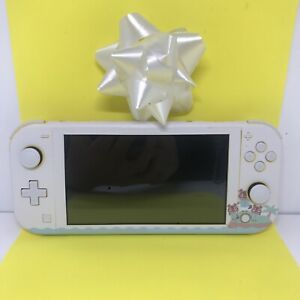 CUSTOM Nintendo Switch Lite Handheld Gaming Console - Animal Crossing Game Decal