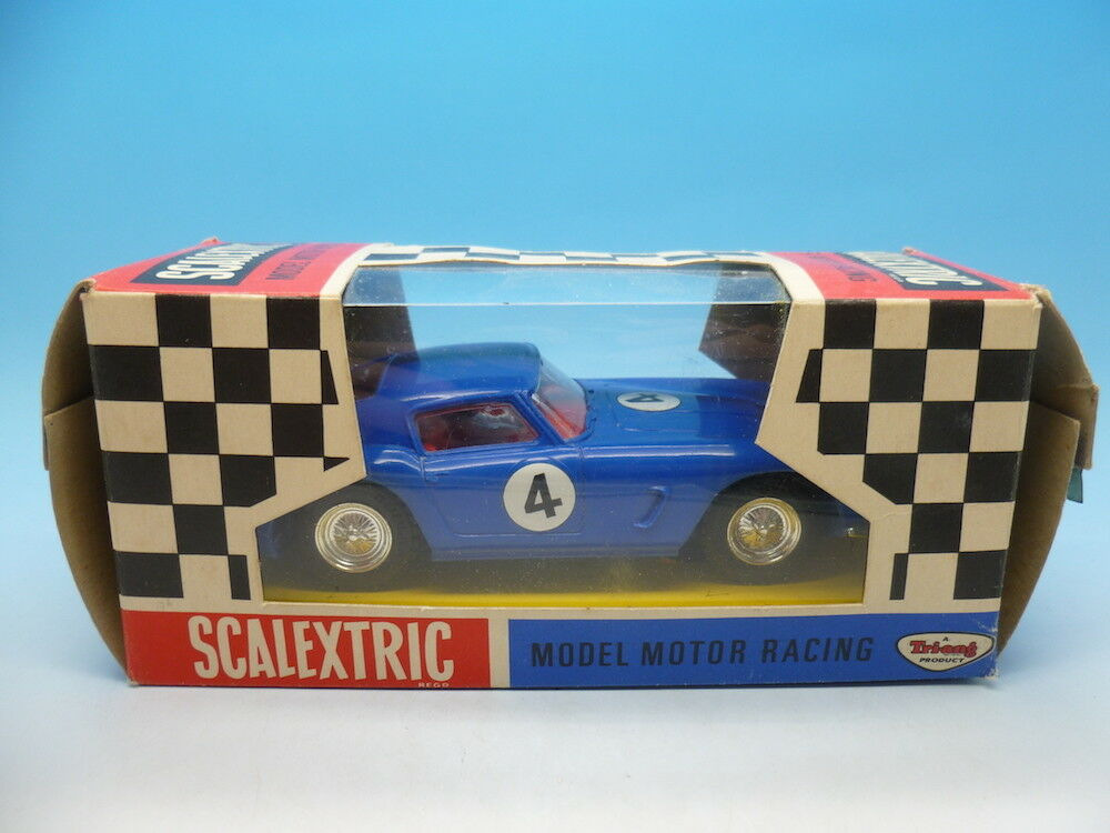 Scalextric C69 Ferrari GT without lights, in superb condition and usual box