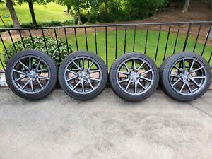 """Tesla Model 3 - 18"""" OEM Wheels/Michelin Tires   eBay"""