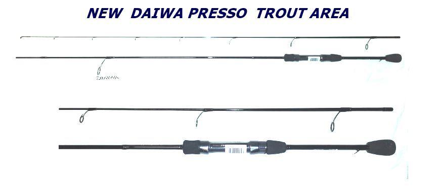 NOVITA' CANNA DAIWA TROUT AREA PRESSO IPRIMI nero 2,13mt  AZIONE 1-7gr TROTA
