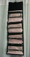 Mary Kay Travel Roll Up Bag Light Pink/black