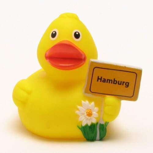 Badeente Stadtente Hamburg Quietscheentchen Quietscheente Gummiente Plastikenten