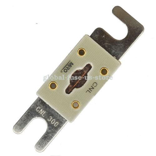 Miro CNL-325A automotriz fusibles 325 Amp DC48//AC125 atornillar conectado