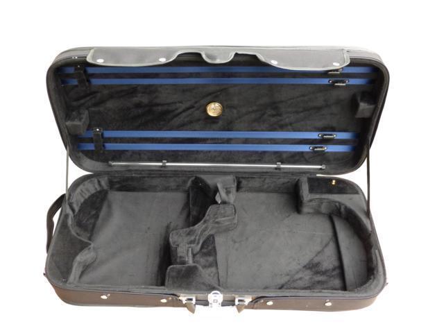 Geigenkoffer für 1x 4 4 Geige und 1x 16  Bratsche neu in schwarz