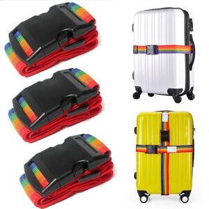 2M-Koffergurt-Gepaeckgurt-Gepaeckband-Kofferriemen-Kofferband-Reise-Gepaeck-Urlaub