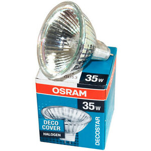 osram 44892 decostar 35 35w 12v 36 gu4 bi pin halogen bulb mr11 with uv filter ebay. Black Bedroom Furniture Sets. Home Design Ideas