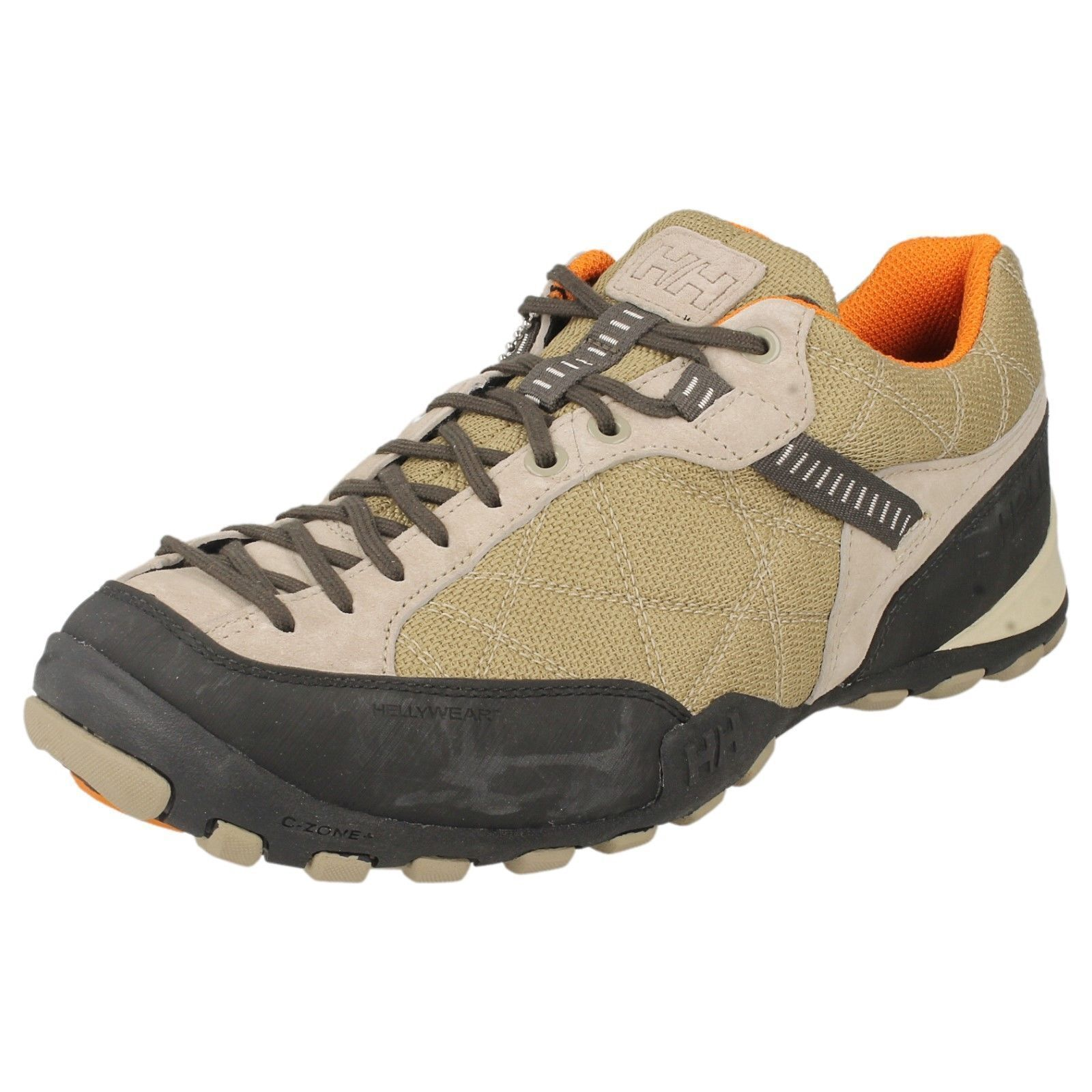 Ladies w the korktrekker 5 lowtaupe orange lace up trainer BYHelly Hansen