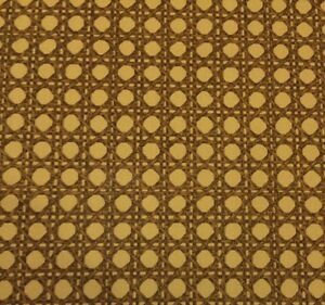 Portfolio Cummins Rattan Bamboo Gold Curtain Cushion