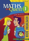Maths Quest for Queensland Homework Book 1 by Elms (Paperback, 2004)