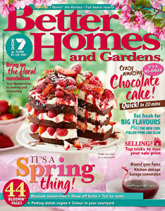Better homes and gardens magazine october 2016 spring Better homes and gardens au