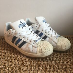 Adidas Superstar - White & Blue Design UK