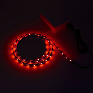 39 5v usb led strip light red bias lighting waterproof for car tv image is loading 39 034 5v usb led strip light red mozeypictures Gallery