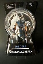 "MORTAL KOMBAT X - 6"" SUB ZERO NINJA FIGURE - Mezco Series 1 2015"