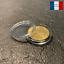 miniature 1 - 10 Capsules Plastique Protection Monnaie Coin Pièce Collection Diamètre 21 mm