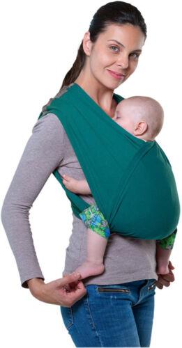 Amazonas Babytrage Carry Baby petrol Bauchtrage