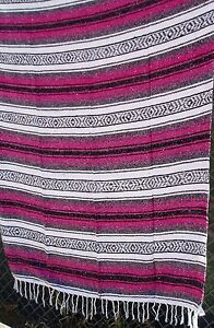 Image Is Loading Authentic Mexican Beach Falsa Yoga Mat Blanket Throw