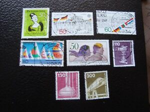 Germany-Rfa-Stamp-Yvert-and-Tellier-N-961-A-968-Obl-A3-Stamp-Germany
