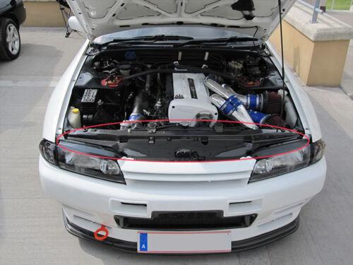 Carbon Fiber Radiator Cooling Slam Panel Cover Trim For Nissan Skyline GTR R32