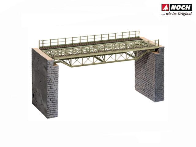 Noch 67024 Brückenfahrbahn gerade Bausatz LC H0