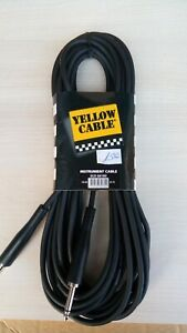 YELLOW-CABLE-Cable-Jack-to-Jack-10m-ECO-G610D-33ft-neuf