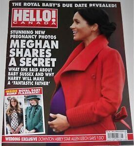 Hello Canada Magazine No 644 January 28 2019 Meghan Shares A Secret Chris Pratt