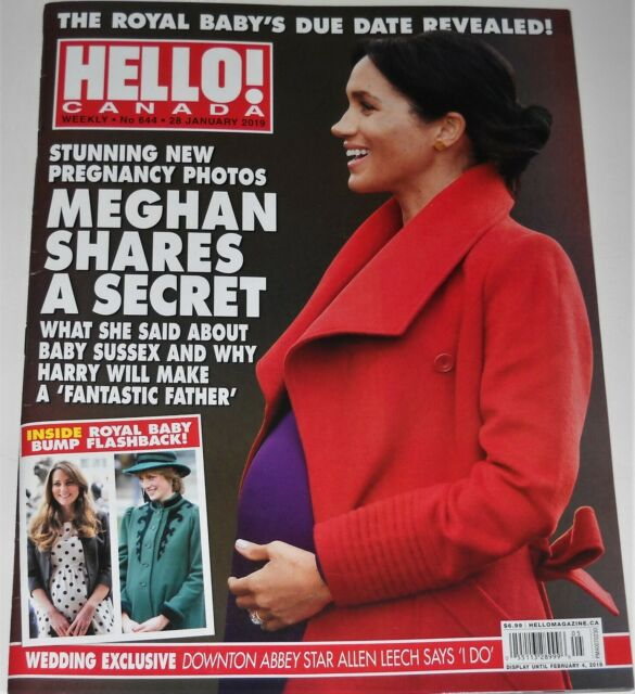 Hello Canada Magazine No 644 January 28 2019 Meghan Shares A Secret Chris Pratt