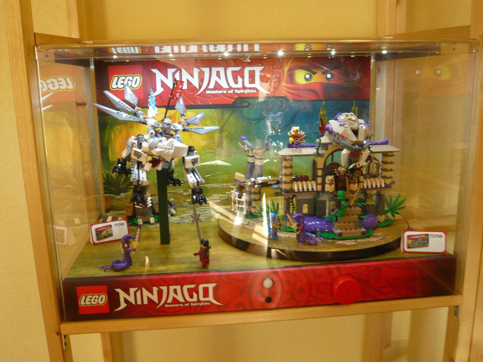 LEGO - Schaukasten -  Ninjago - Art.70748   Art. 70749 - Showcase