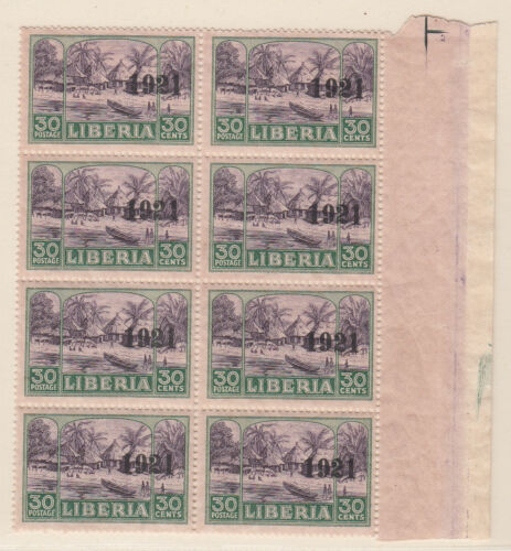Liberia # 203 MNH Block of 8