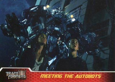 Transformers Revenge Of The Fallen Movie 1 Recap Chase Card 1 Of 9