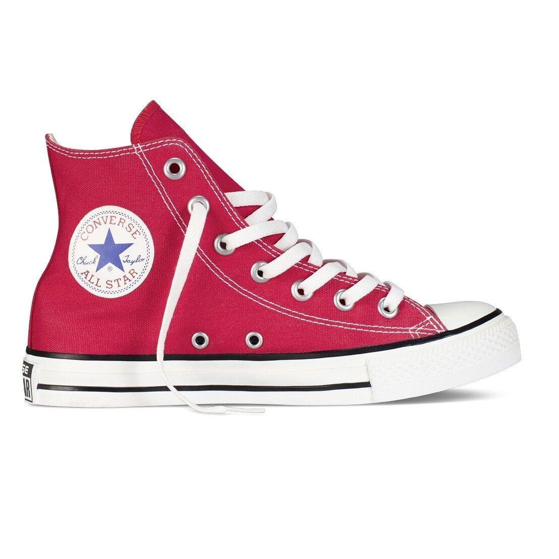 Converse All Star Chuck Taylor Hi zapatos zapatillas rojo m9621