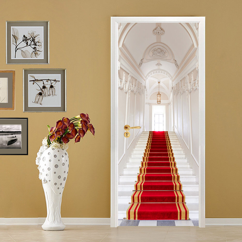 3D Der Teppich Tür Wandmalerei Wandaufkleber Aufkleber AJ WALLPAPER DE Kyra | Billig ideal  | Modern  | Genial