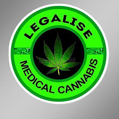 Cannabis sticker Canada leaf pot marijuana decal funny bumper sticker Lot of two