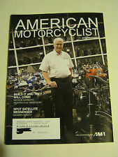 November 2008 American Motorcyclist Magazine, Build It And They... (BD-12)