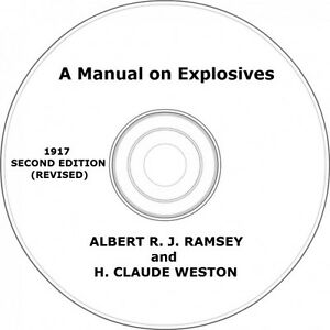 A-Manual-on-Explosives-Vintage-Book-on-CD