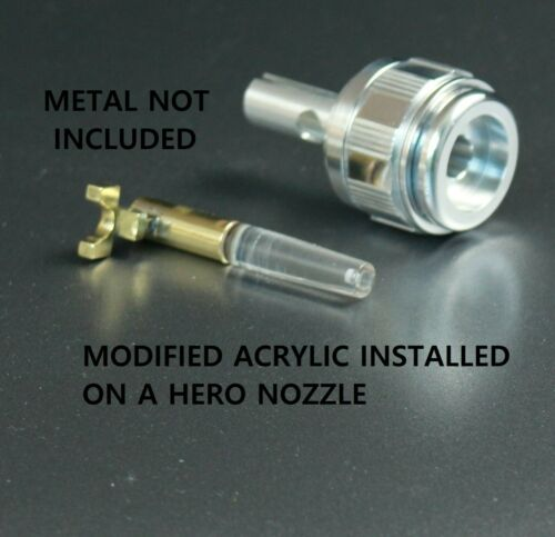 POLISHED Acrylic Emitter CNC Perfection Star Trek TOS Hero or Mid-Grade Use