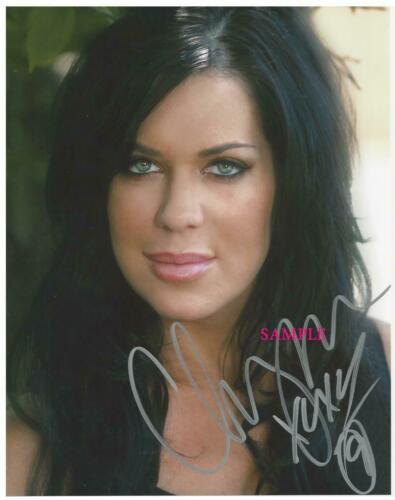 CHYNA #2 REPRINT SIGNED 8X10 PHOTO AUTOGRAPHED CHRISTMAS MAN CAVE GIFT WWE