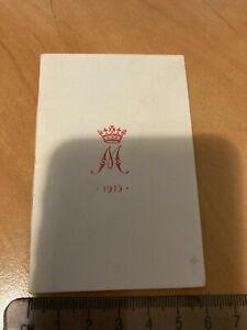 WWI Princess Mary Tin Christmas 1915 Card